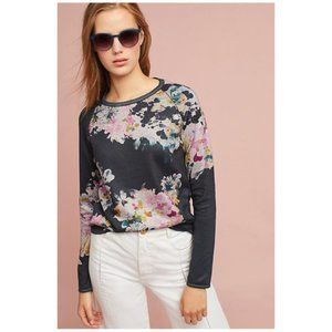 Maeve floral sweater/Anthro Ramya pullover